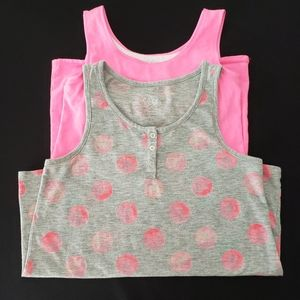 Girl's Justice Tank Tops